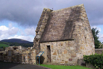 Killaloe, County Clare - St Lua's church next to the Catholic Church of St Flannan's, Killaloe