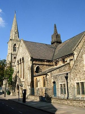 Alexander Dick Gough - Gough's church of St Mark, Tollington Park, 1854