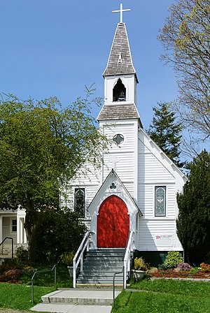Port Townsend Historic District - Image: St Paul's Church Port Townsend