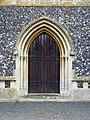 St Peter and St Paul, Brockdish, Norfolk - Doorway - geograph.org.uk - 804897.jpg