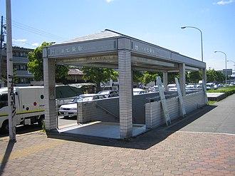 Shichijō Station - Shichijō Station, May 2005