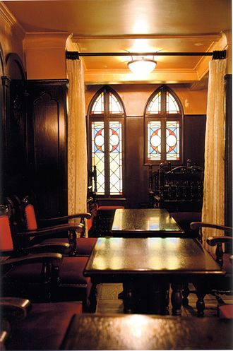 Salon de thé François - Stained glass windows of Salon de thé François
