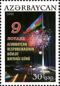 Azərbaycan Respublikasinin Dovlət Bayragi Gunu Vikipediya