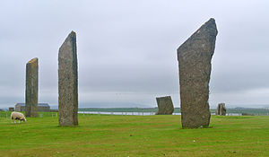 Standing Stones of Stenness - The Standing Stones of Stenness