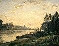 Stanislas Lépine - Sunset on a River - circa 1878-1882.jpg