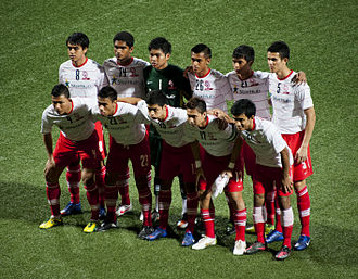 Hariss Harun - Hariss in the starting line-up for LionsXII against Kuala Lumpur on 17 January 2012