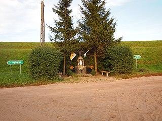 Międzyłęż Village in Pomeranian Voivodeship, Poland