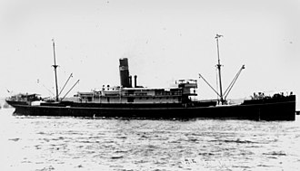 Burns Philp - Burns, Philp cargo and passenger ship Mataram, built in 1909 and sold in 1935