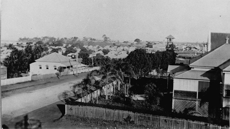 File:StateLibQld 2 188267 View of Sandgate from the fire tower, 1924.jpg