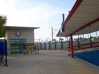 Gouda Goverwelle railway station - Image: Station Gouda Goverwelle