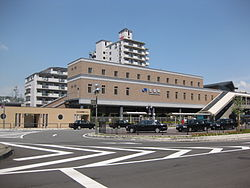Station building of JR Takarazuka station.jpg