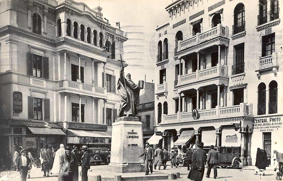Statue lavigerie
