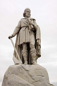 Statue of King Alfred in Wantage Market Square.jpg
