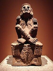 Statua di Xochipilli, Museo nazionale di antropologia di Città del Messico
