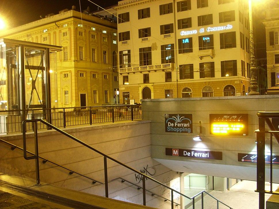 Stazione metropolitana de Ferrari genova 01