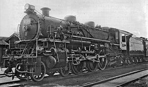 JNR Class C52 - 8201 (later C52 2) in 1926