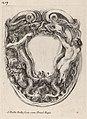 Stefano Della Bella, Cartouche Supported by Triton and Siren, 1647, NGA 30481.jpg