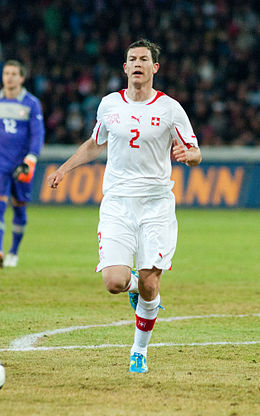 Stephan Lichtsteiner - Switzerland vs. Argentina, 29th February 2012.jpg