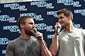 Stephen Amell and Robbie Amell HVFFLondon2017Amell-ALS-28 (35183295081).jpg