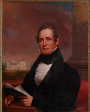 Thaddeus Stevens - Portrait of Stevens by Jacob Eichholtz now owned by Gettysburg College