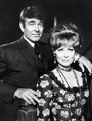 "Cimarron Strip - Whitman and Victoria Shaw in episode 18, ""Knife in the Darkness"", written by Harlan Ellison."