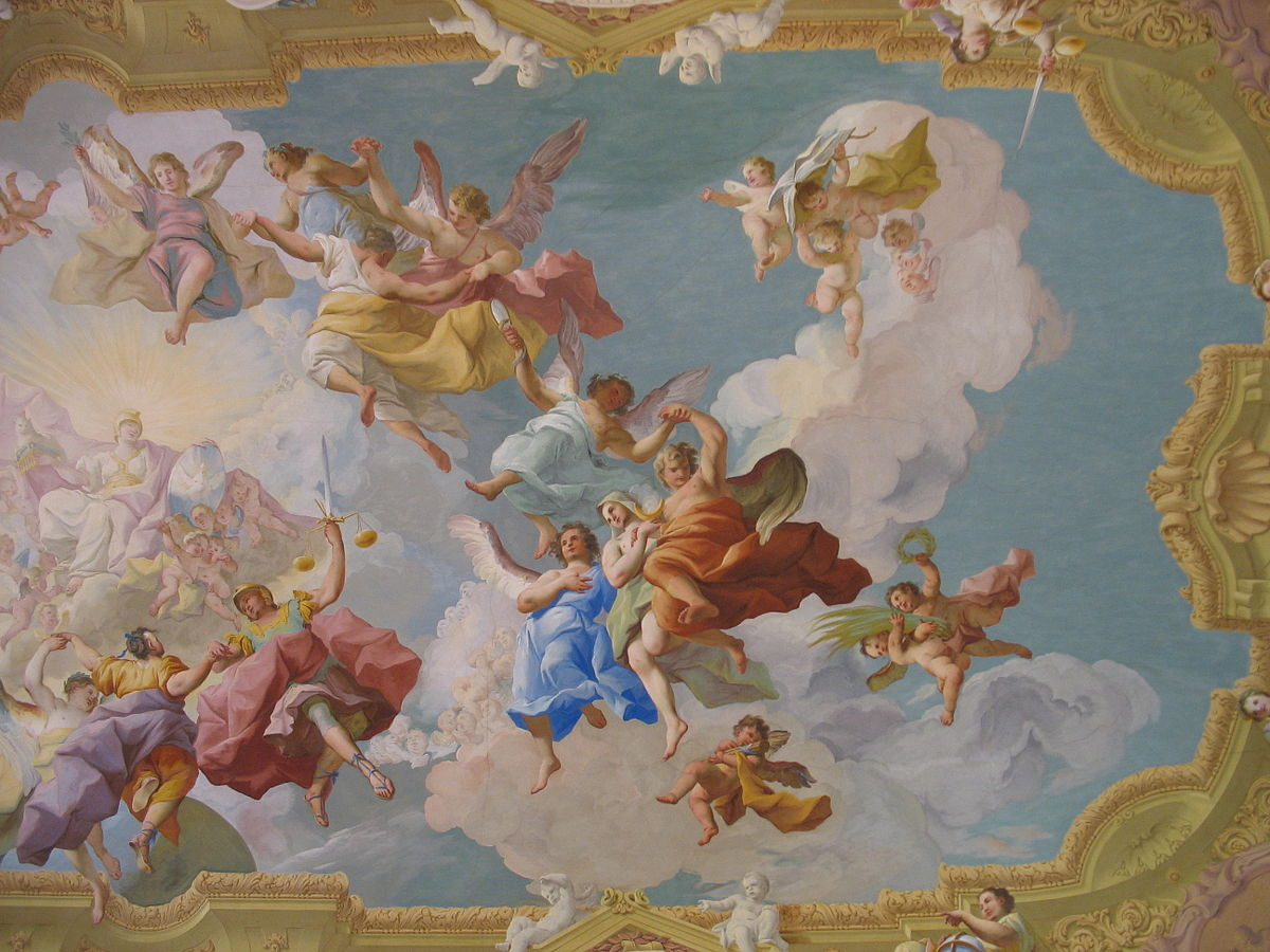 Fresco simple english wikipedia the free encyclopedia for Mural examples