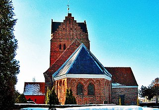 Stokkemarke Church church building in Lolland Municipality, Denmark