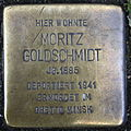 Stolperstein Delmenhorst - Moritz Goldschmidt (1885).JPG