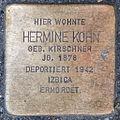 Stolperstein Hermine Kohn by 2eight 3SC1426.jpg