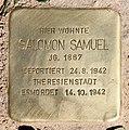 Stolperstein Margaretenstr 2 (Grune) Salomon Samuel.jpg