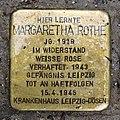 Stolperstein Margaretha Rothe, Klosterschule Hamburg.JPG