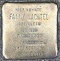 Stolperstein Martin-Luther-Str 11 (Schöb) Fanny Wachtel.jpg