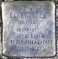 Stolperstein Ritterstr 99 (Kreuz) Gert Rücker.jpg