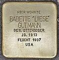 Stolperstein für Babette Gutmann (Heidelberg).jpg