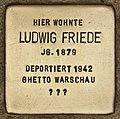 Stolperstein für Ludwig Friede (Cottbus).jpg