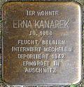 Stumbling block for Erna Kanarek (Small Greek Market 31)