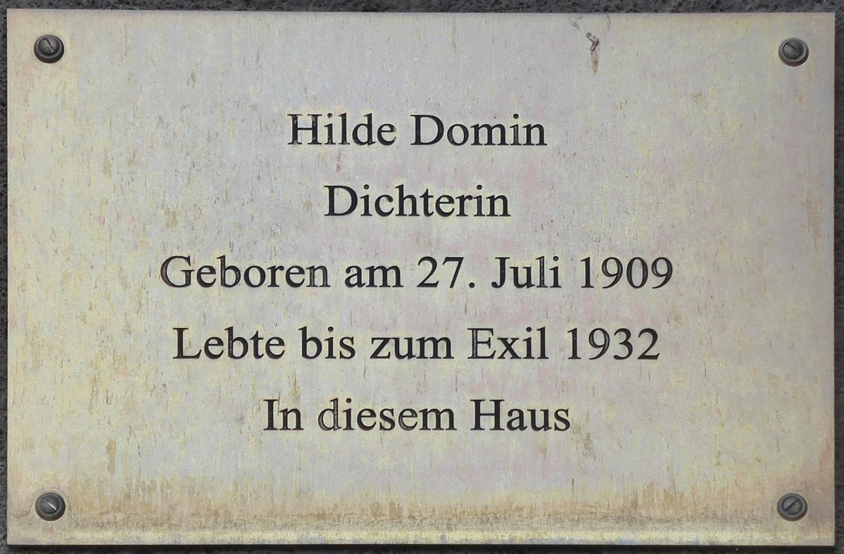 Hilde Domin – Wikipedia