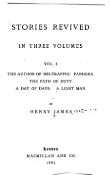 Stories Revived (3 volumes, London, Macmillan, 1885), Volume 1.djvu