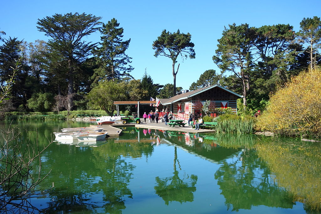 Stow Lake - Golden Gate Park, San Francisco, CA - DSC09739