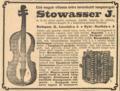 Stowasser J reklám 1909.PNG