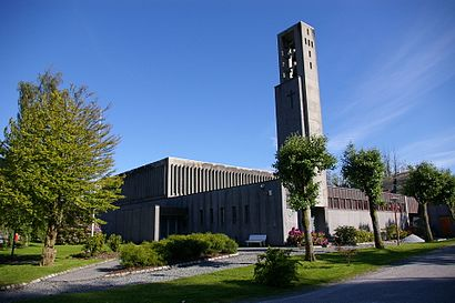 How to get to Strusshamn Kirke with public transit - About the place