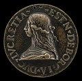 Style of Giancristoforo Romano, Lucrezia Borgia, 1480-1519, Wife of Alfonso d'Este of Ferrara 1502, 1502, NGA 44453.jpg