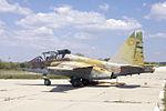Su-25UB Macedonia (20897568328).jpg