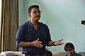 Subhojit Saha Speaks - Wikimedia Meetup - AMPS - Kolkata 2017-04-23 6694.JPG