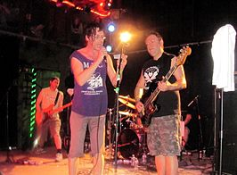 Subhumans live in Chicago in 2011.