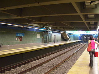 Carabobo (Buenos Aires Underground) metro station in Buenos Aires