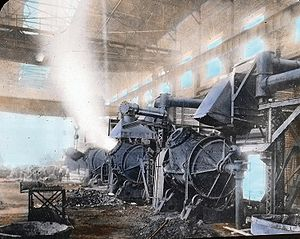 Greater Sudbury - Copper converter in Sudbury, c. 1920