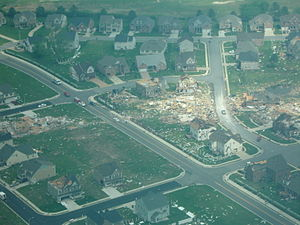 Suffolk Tornado Damage