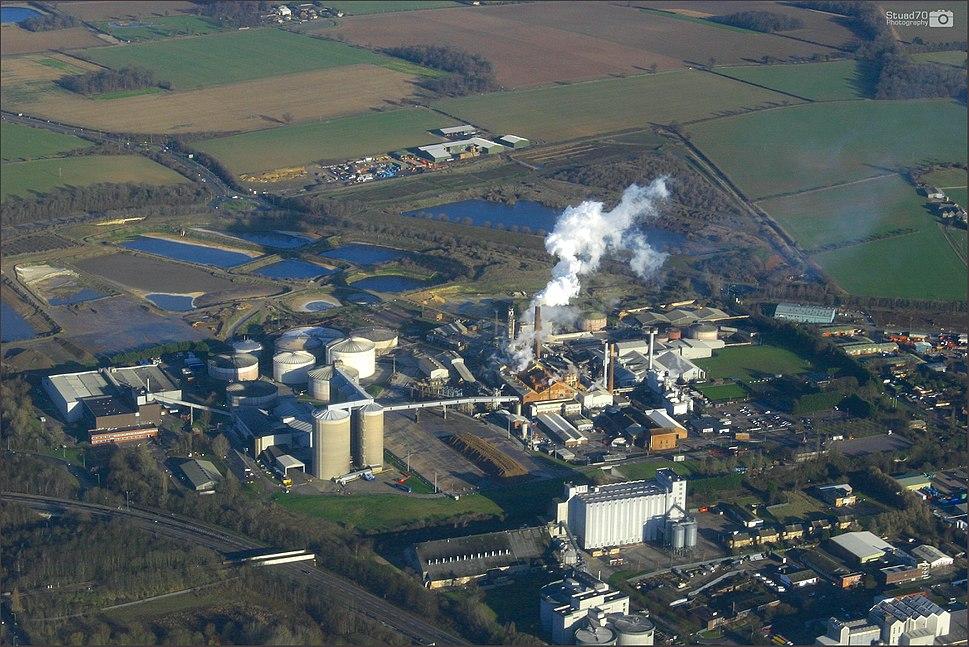 Sugar Beet Factory, England