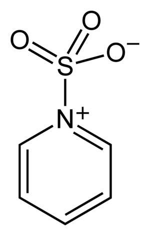 Sulfur trioxide pyridine complex - Image: Sulfur trioxide pyridine complex 2D skeletal